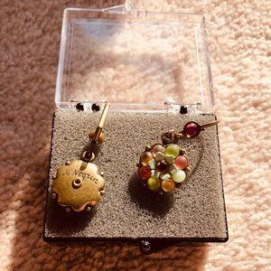 MICHAL NEGRIN drop floral earrings